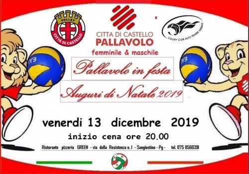FESTA DELLA PALLAVOLO & AUGURI DI NATALE 2019