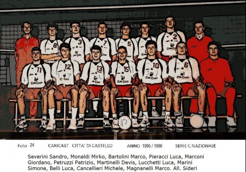 ....dagli archivi del volley......AMARCORD   26 - anni 90