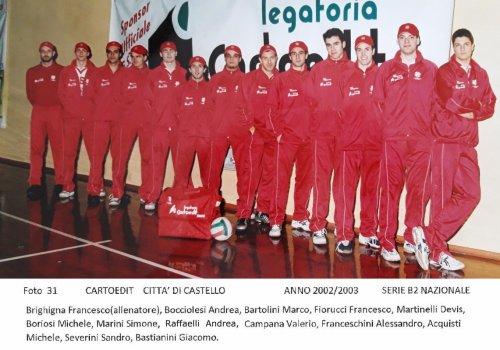 ....dagli archivi del volley......AMARCORD   33 - anni 2000