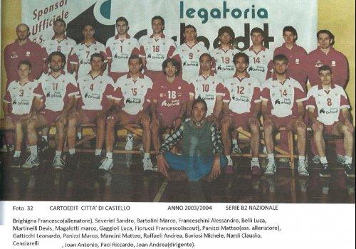 ....dagli archivi del volley..... AMARCORD   34 - anni 2000