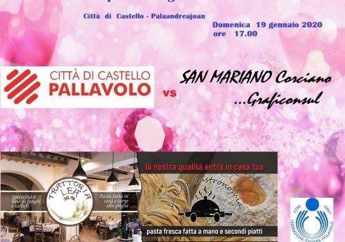 serie C femminile ...CITTA DI CASTELLO/SAN MARIANO