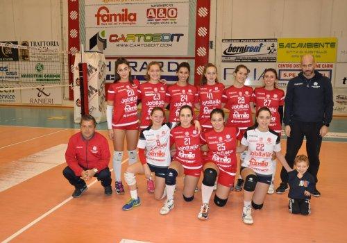 campionato 1 divisione  e under 16 rossa femminile