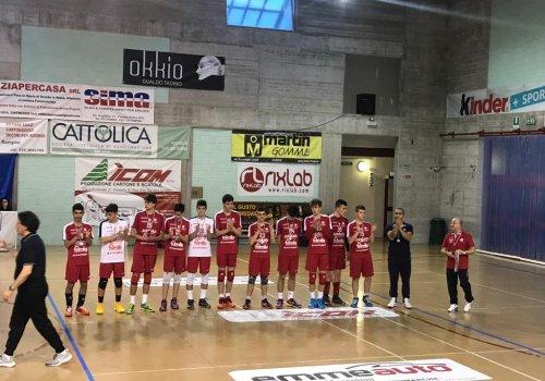 campionato under 16 maschile - finale regionale - medaglia d'argento