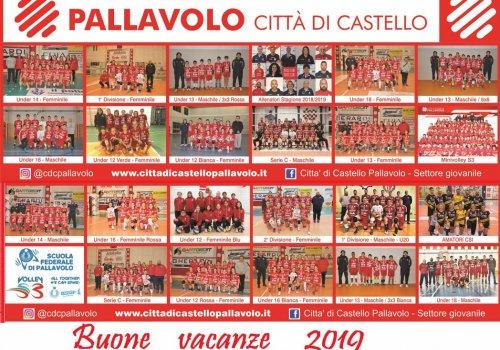 BUONE VACANZE DAL CITTA' DI CASTELLO PALLAVOLO