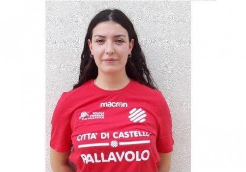 CITTA' DI CASTELLO PALLAVOLO serie C - CELESTE CARDELLINI  NEL ROSTER