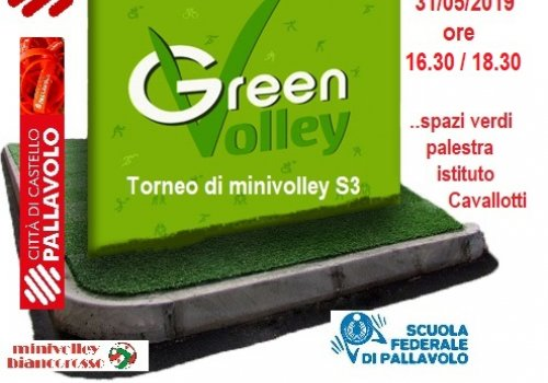 MINIVOLLEY BIANCOROSSO S3--TORNEO GREEN VOLLEY -