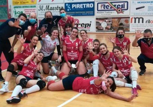 CITTA' DI CASTELLO PALLAVOLO serie C - VITTORIA SULLA CAPOLISTA