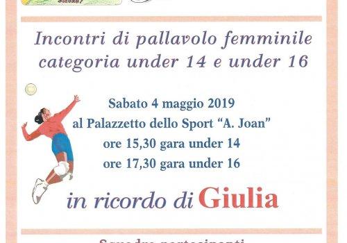 TORNEO PER GIULIA - CITTA' DI CASTELLO PALLAVOLO