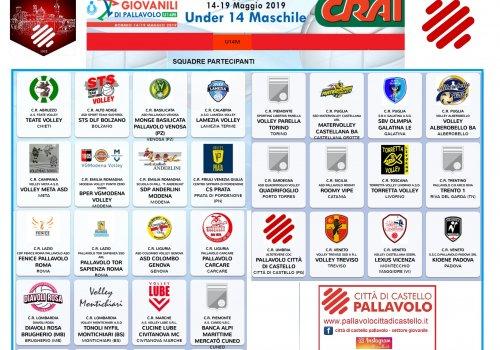 finali nazionali under 14 maschili - stagione 2018/2019