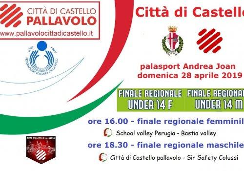 Finali Regionali under 14 a Città di Castello
