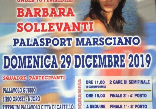 UNDER 16 - 14° Memorial  Barbara Sollevanti